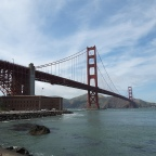 San Francisco 2018 : vendredi 18 mai – Golden Gate Bridge, Sausalito
